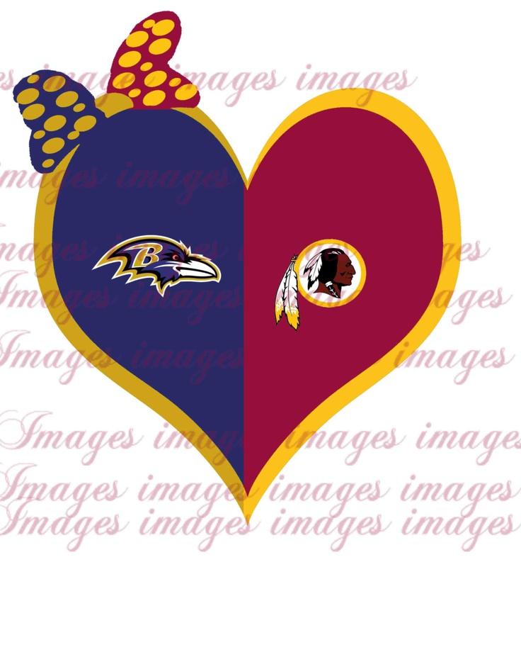 Ravens/redskins++house+divided++Digital+Iron+on+by+Urdesigns,+$2.50