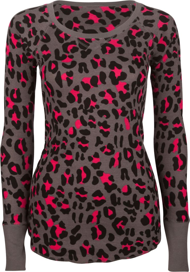 FULL TILT Essential Print Womens Thermal 202944568   Knit Tops & Tees   Tillys.com
