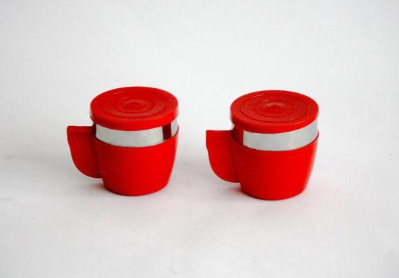 Tazza del Thermos dell'annata / tazze di caffè con di DoubleRandC