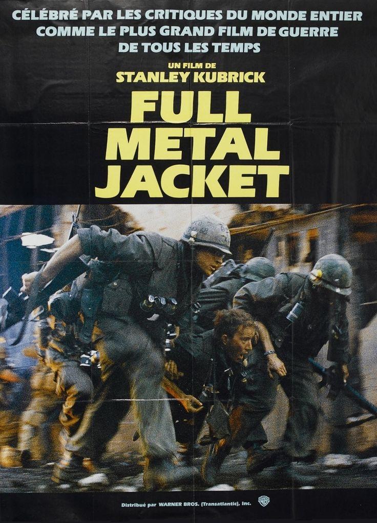 Постер к фильму «Full Metal Jacket / Цельнометаллическая оболочка (1987)» смотреть онлайн