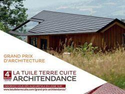 """Lancement du concours """"Tuile terre cuite Architendance"""""""