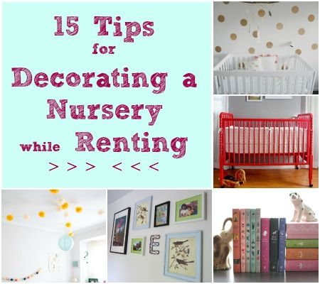 Awesome tips for decorating a rented home!