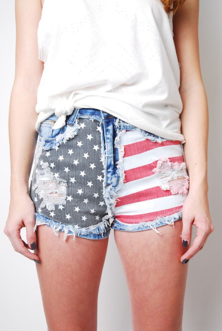 Party In The USA Shorts - The most perfect Fourth of July Shorts... EVER!