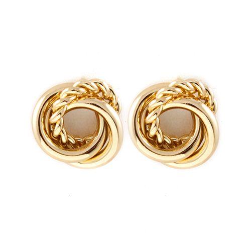 Metal Stud Rosie Earrings