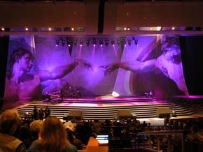 Sew What? Digital Church, stage curtains, stage drapes, theatrical drapery, back drops, curtain tracks