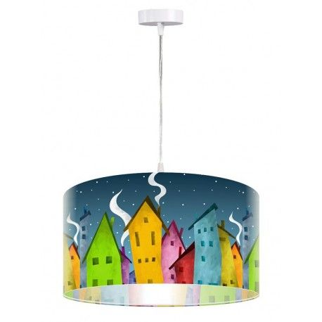 Lampa wisząca Bajkowe miasteczko