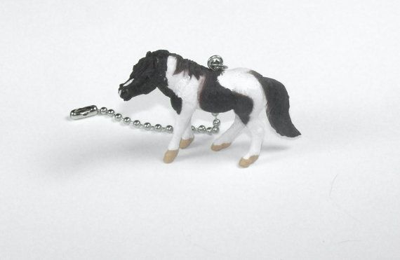 Western Decor Horse Lover Gift Ceiling Fan Pull Chain Horse