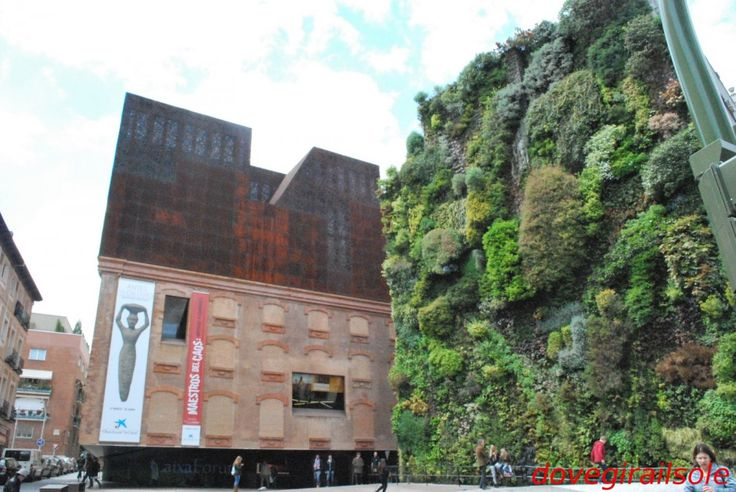 60 best circular images on pinterest contemporary - Giardino verticale madrid ...