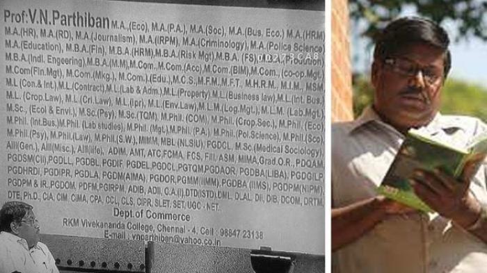 Dosen Asal India Ini Punya 145 Gelar yang Mengekor di Belakang Namanya! Jadi…
