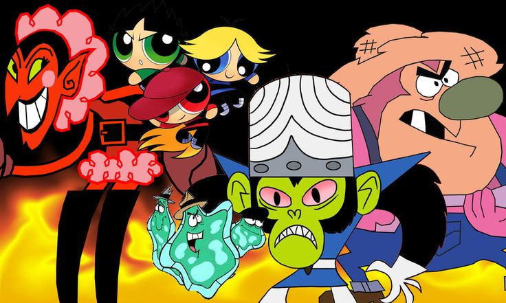the villains of townsville by anime-fan001