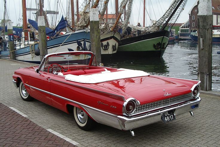 Ford Galaxie 500 Sunliner 1961 Aaca Photo Gallery Ford