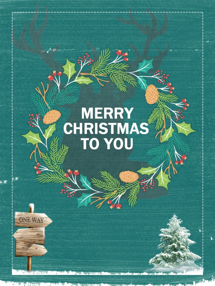 Merry Christmas Poster 2018.Brief Green Christmas Tree Christmas Day Posters Xmas