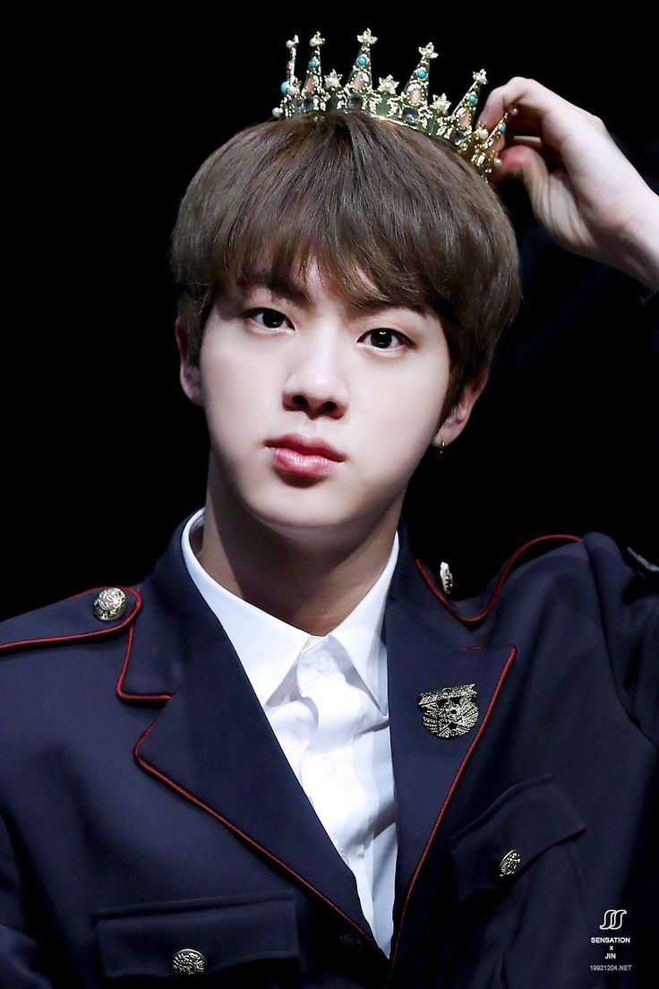 Yes Jin. We know. You deserve each and every crown in the world.