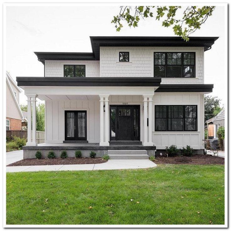 39 Most Popular Dream House Exterior Design Ideas 17 Design Dream Exterior House Ideas Popular House Designs Exterior Flat Roof House House Exterior