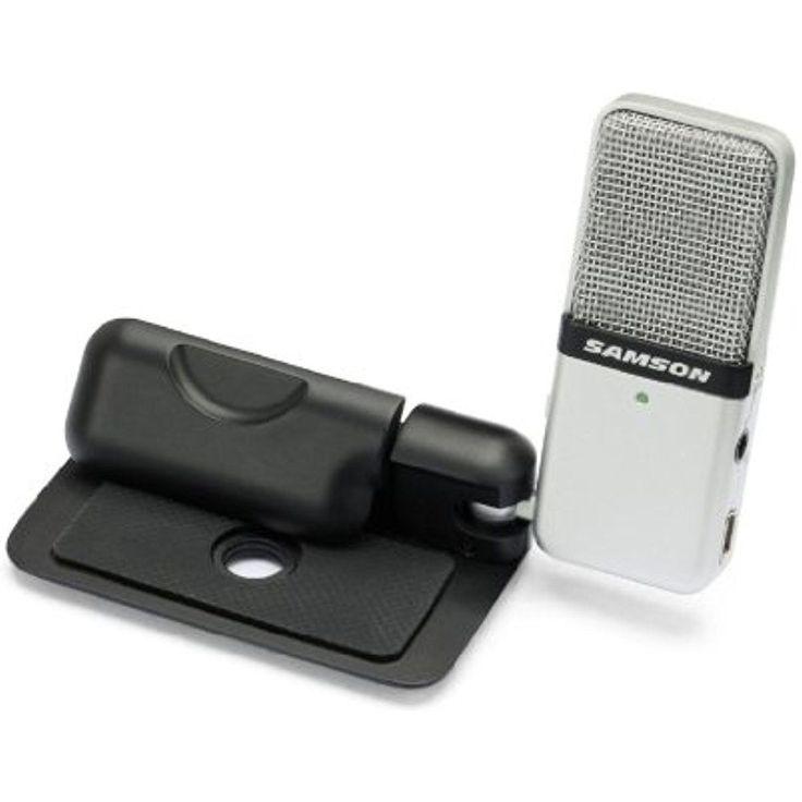 Professional USB Condenser Microphone Portable Mic PC Recording Music Podcast #SamsonTechnologies