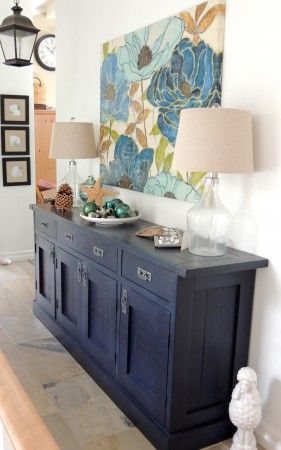 Gigantic planked sideboard | Do It Yourself Home Projects from Ana White                                                                                                                                                      More