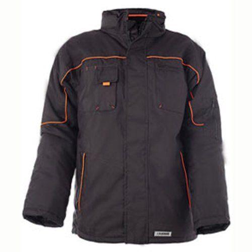 Planam 3535 Wetterjacke, schwarz/orange , L - [ #Germany #Deutschland ] #Bekleidung [ more details at ... http://deutschdesign.apparelique.com/planam-3535-wetterjacke-schwarzorange-l/ ]