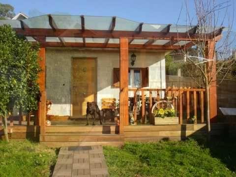 22 best techos de madera images on pinterest pergola - Como hacer porche de madera ...