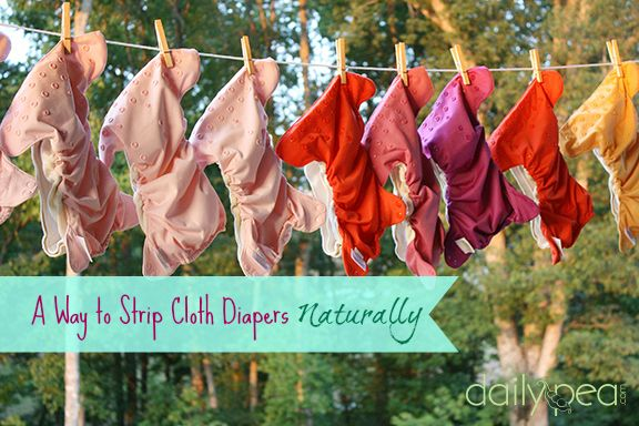 How to strip cloth diapers naturally - Rockin Green Funk Rock