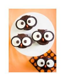 Owl cupcakes (Kids Recipes)