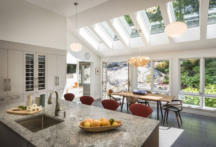 Striking Spaces with Skylights