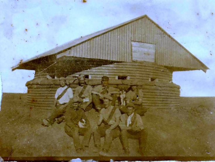 Boer War blockhouse Family History Local History