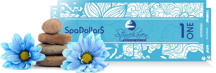 Currently we have a promotion where you can earn Spa Dollar$ for doing what you will be doing already this Christmas season, buying presents.  If you purchase a $50 Stonehaven Gift Card you will receive 5 SpaDollar$.  If you purchase a $75 gift card you will receive 10 SpaDollar$ and if you spend $100 on a gift card you will receive 15 SpaDollar$.  Offer ends 12/25/14