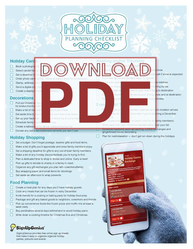 51 best ChristmasTo Do List☑ images on Pinterest Christmas - christmas preparation checklist