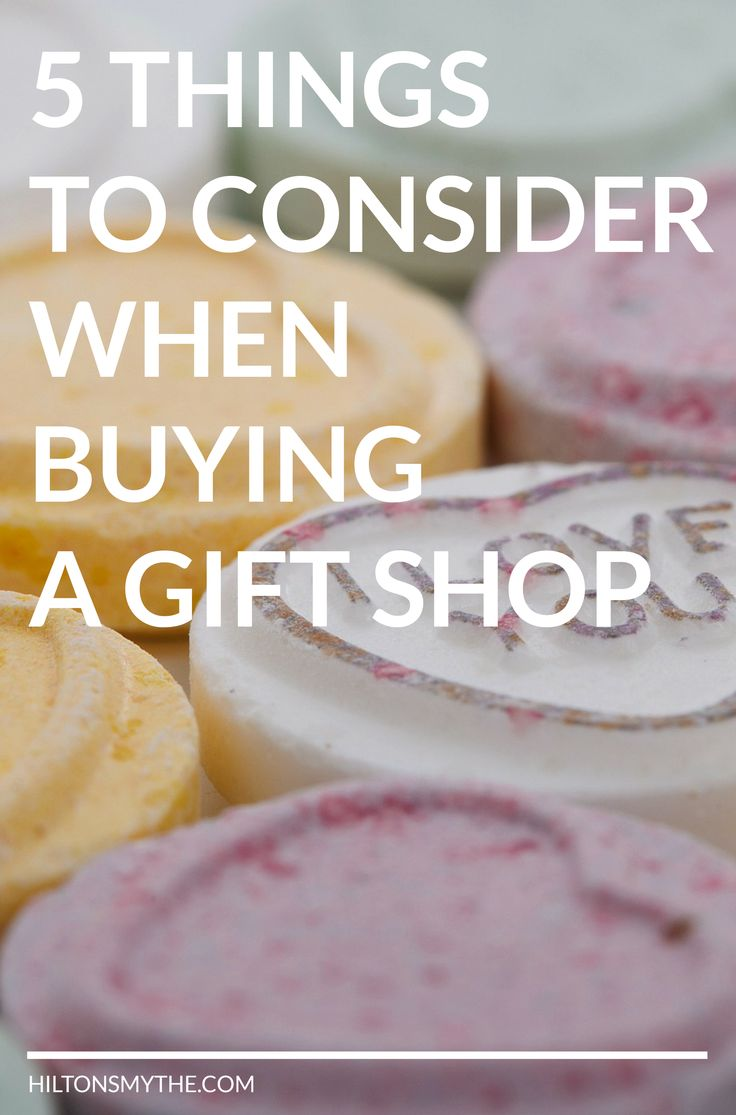 Looking to buy a Gift Shop? Here's 5 Things to Consider When #Buying a Gift Shop..