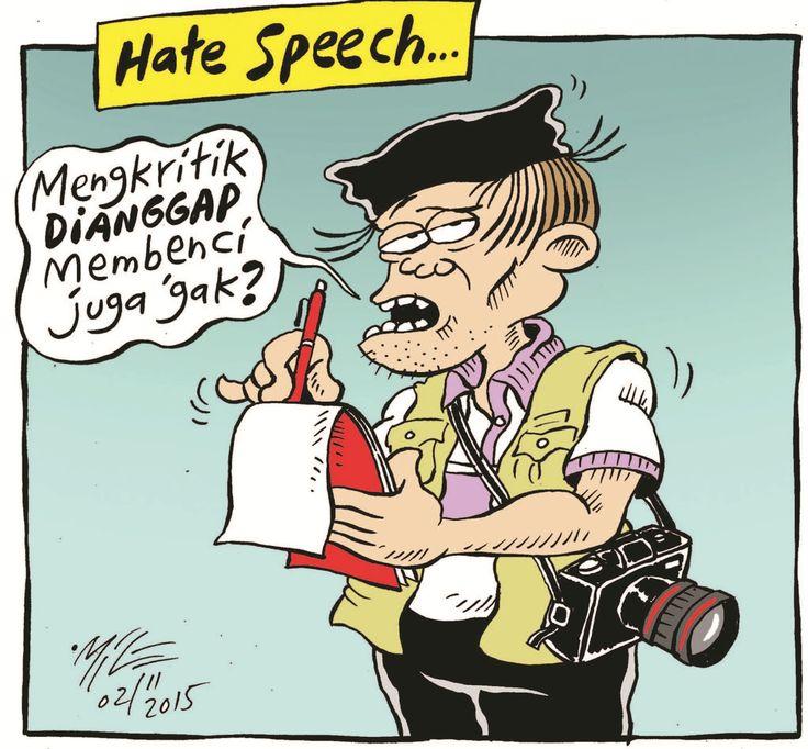 Mice Cartoon, Rakyat Merdeka - November 2015: Hate Speech
