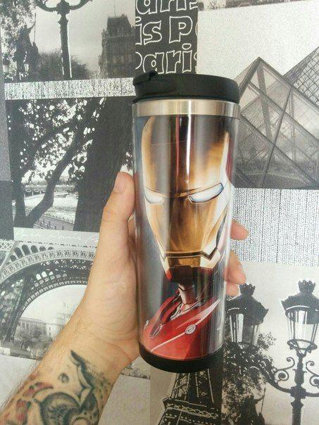 Tumbler travel mug Ironman