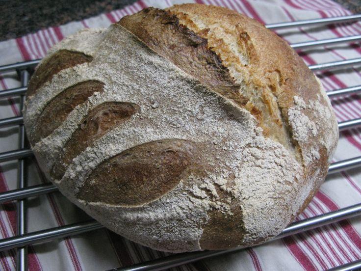 Multigrain sourdough (60%) Manitoba wheat.