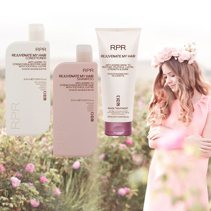 SPRING HAIR MUST HAVES || RPR Rejuvenate My Hair Shampoo, Conditioner and Anti-aging Mask. Our Rejuvenate My Hair range has been designed specifically to restore strength and shine into your hair while also hydrating and balancing oily and dry scalps. Packed with our signature blend of Rosehip, Baobab and Biotin, fragile lifeless or damaged hair will transform into lustrous healthy-looking hair with body, bounce and shine. Spring into action now and show your hair the love it deserves!