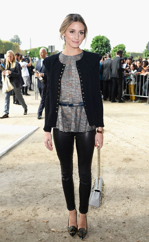 Olivia Palermo from Celebrity Sightings at Paris Fashion Week Spring 2014 | E! Online