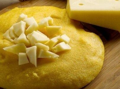 polenta fatta con la pentola a pressione