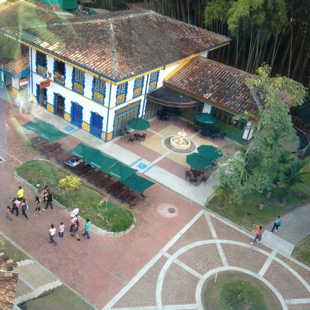 Parque del café, colombia