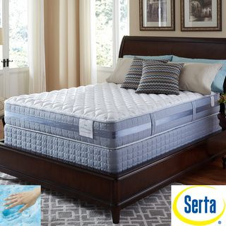 Serta Perfect Sleeper Resolution Firm King Size Mattress And Split Foundation Set