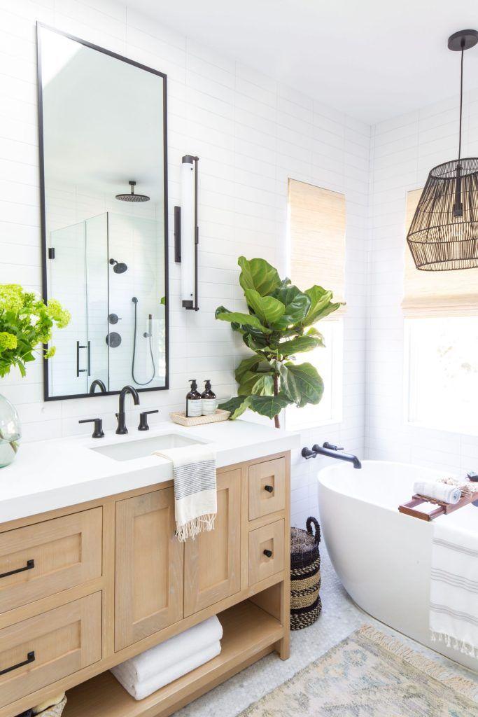 Secret Combination For The Dream Bathroom Anita Yokota Bathroom Furniture Modern Bathroom Design Decor Oak Vanity Bathroom