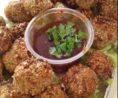 Thermomix Sesame Meatballs