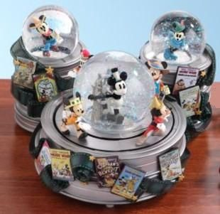 Disney Mickey Mouse Through The Years Snowglobe