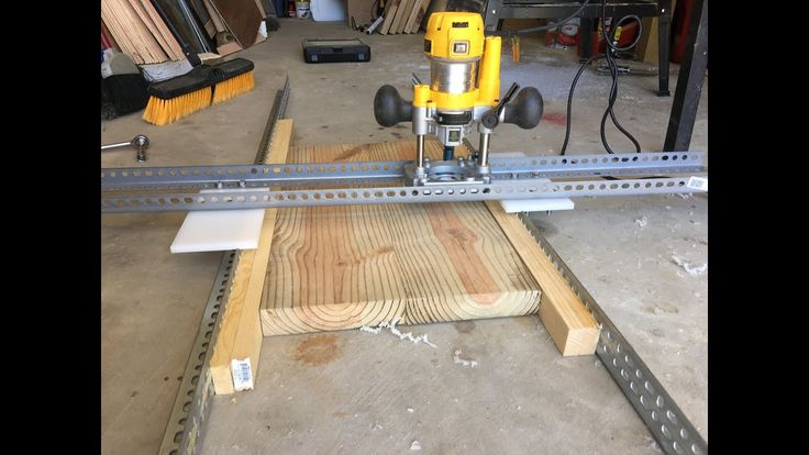 Let S Make An Easy And Adjustable Diy Router Planer How