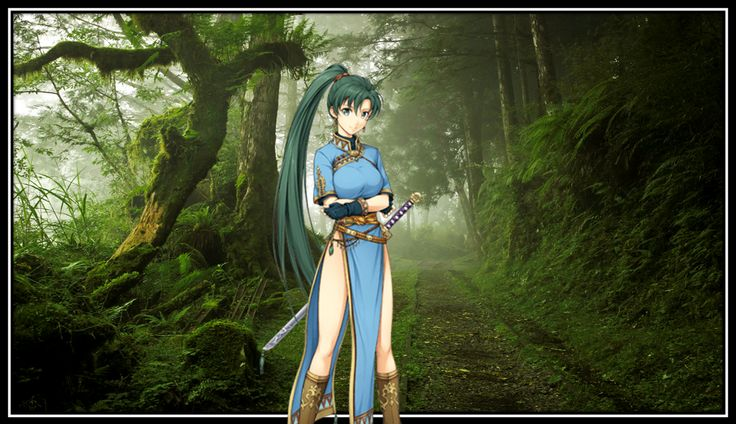 Lyndis (リンディス Rindisu), primary known by her nickname Lyn (リン Rin; romanized as Lin in Fire Emblem Museum), is one of the three main characters of Fire Emblem: The Blazing Blade, although she is not mentioned in Fire Emblem: The Binding Blade.