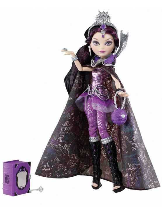 Ever After High Legacy Day Raven Queen Doll http://thedollprincess.com/shop/ever-after-high-legacy-day-raven-queen-doll/