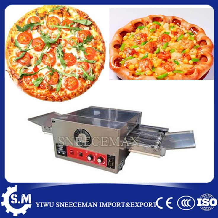 32'' high efficiency commercial tunnel stone conveyor pizza oven #Affiliate