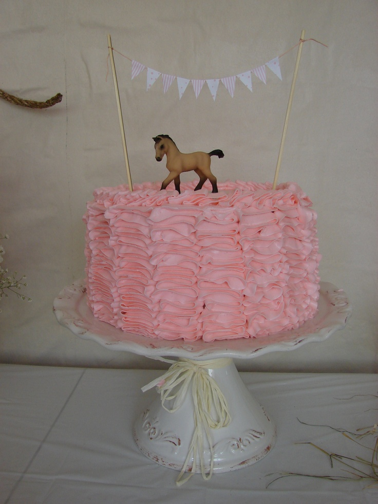 Vintage Cowgirl cake - for the smash cake topper @Savannah Daudt