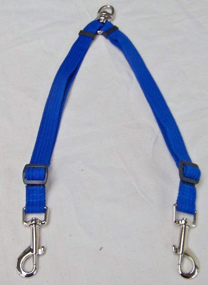 COUPLING LEADS - MEDIUM WGHT 25MM RIBBED WEBBING - FIXED OR ADJUSTABLE LENGTH