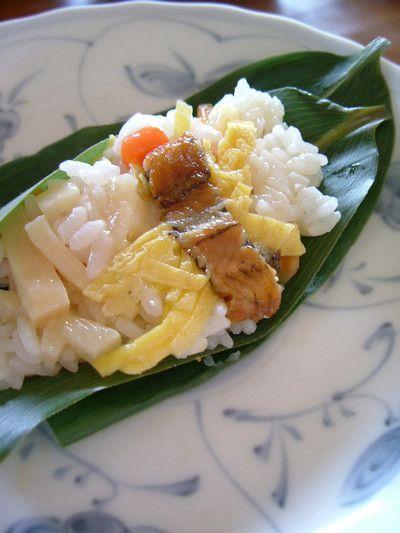 日記] 花見で笹寿司 by あつパパさん   レシピブログ - 料理ブログの ...