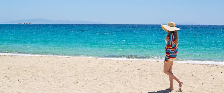 Finding serenity! Finding yourself! A walk at the golden sand of the Agios Prokopios beach will make you feel peaceful and calm! Remove your shoes and feel the vibrations of the Naxian sea shores! #LagosMareHotel #Naxos #beach  #visitgreece #greekislands #Greece