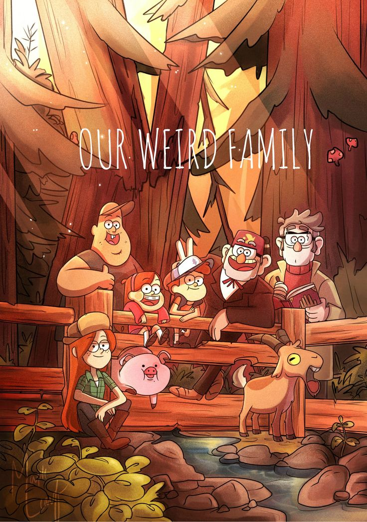 Day 20: I Love Gravity Falls Because - It's my fictional weird family :') Alex Hirsch created a wonderful story that made me laugh, cry, gasp, scream, and be at the edge of my seat. His characters are so wonderful almost all of them, if not all found a way to my heart.