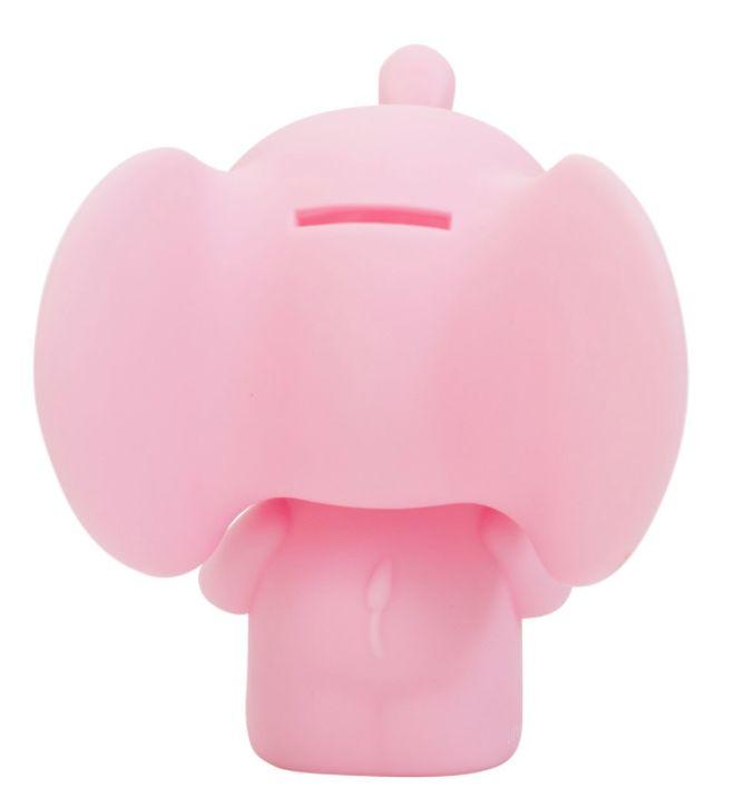 Eén van de nieuwste toevoegingen aan de collectie van A Little Lovely Company is deze megaschattige spaarpot in de vorm van een Olifantje. De spaarpot kan makkelijk open gemaakt worden door het kopje van de olifanteen kwartslag te draaien.    Materiaal: BPA, Lood- enphthalate vrijPVC   Afmeting:15x18x13cm